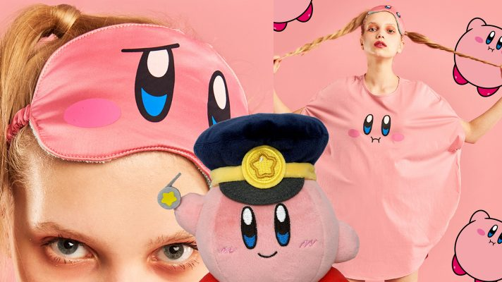 Nintendo goes Kirby merchandise and lingerie mad for 25th Anniversary