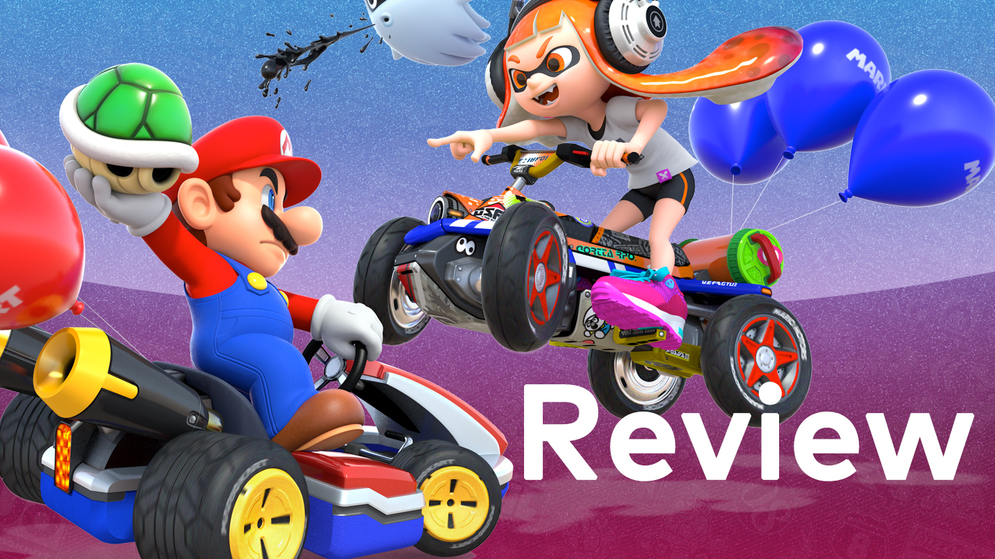 mario kart 8 deluxe switch review. Black Bedroom Furniture Sets. Home Design Ideas