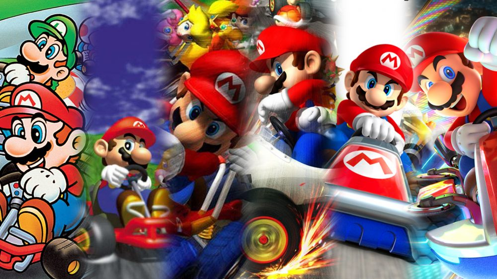 Mario Kart 8 Deluxe is out now