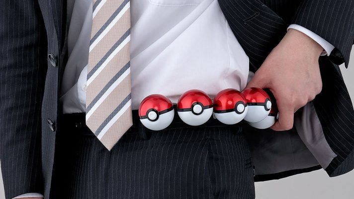 Deck out your belt with these mint dispensing Pokéballs