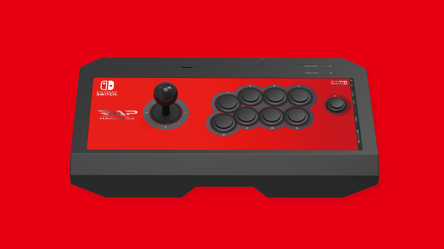 Hori Arcade Fight Stick for Nintendo Switch officially