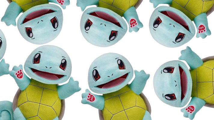Squirtle joins the Pokémon range at Build-A-Bear