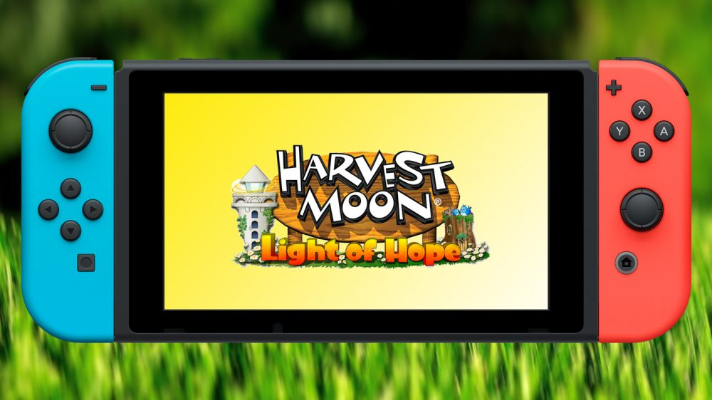 Harvest Moon Light Of Hope Switch Release Date