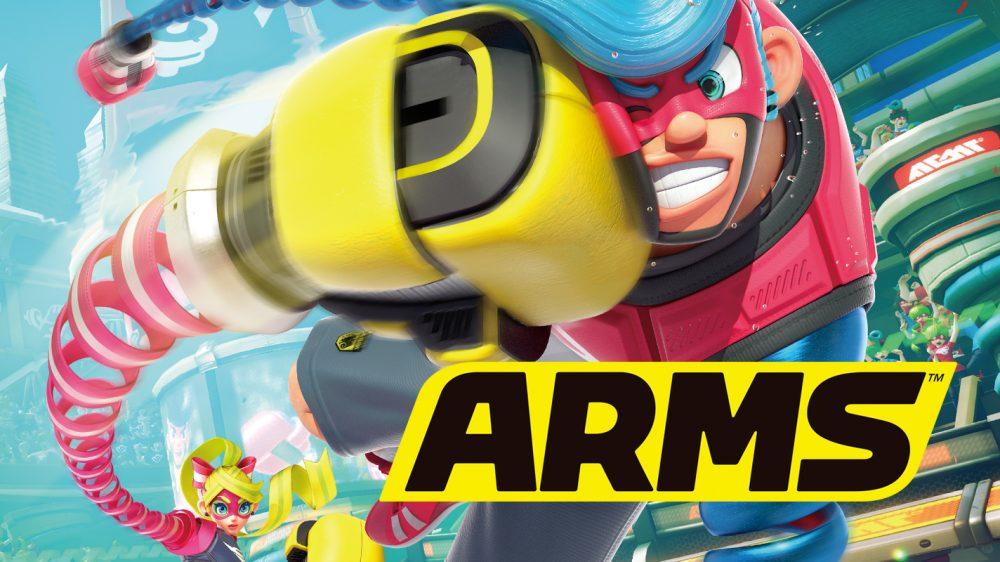 Nintendo And Dark Horse To Publish ARMS Graphic Novel