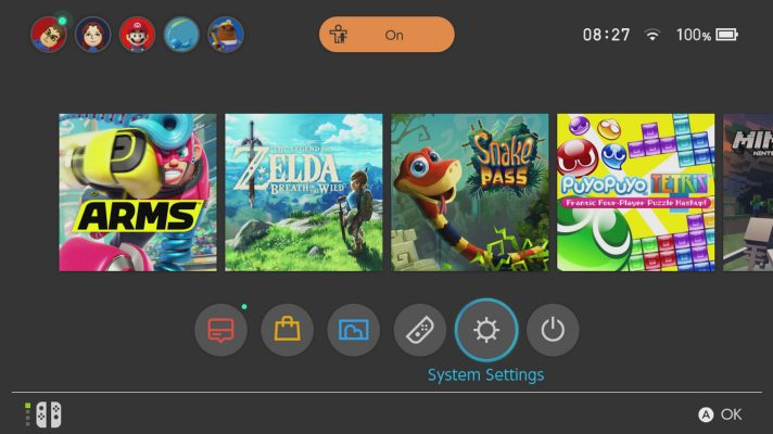 Nintendo Switch Firmware updated to 3.0.0 with tons of new features and fixes