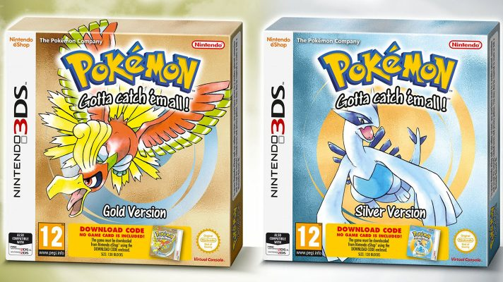 Europe's getting boxed editions of Pokémon Gold and Silver for 3DS VC