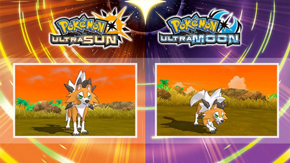 Pokémon Ultra Sun/Moon introduces new form of Lycanroc
