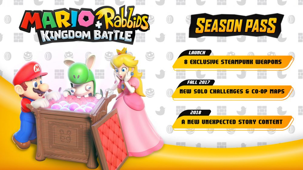 Mario+Rabbids: Kingdom Battle Season Pass Confirmed and Detailed