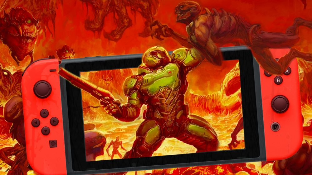 Doom for Switch gets locked at 30fps - Vooks