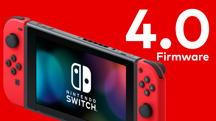 Firmware 4.0.0 hits Switch, adds video capture, transferable save data and more
