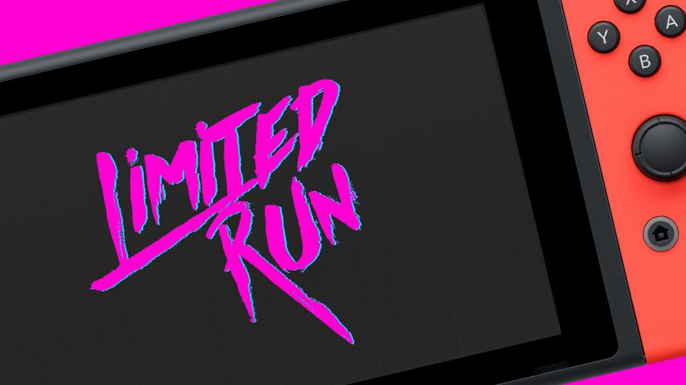 Limited Run Games Officially Coming to Nintendo Switch
