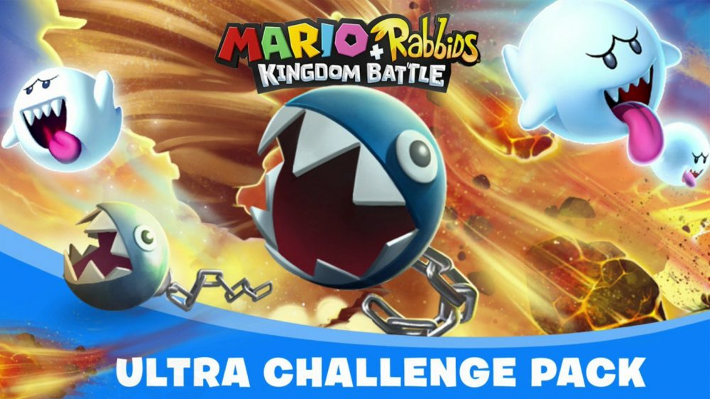 The Mario + Rabbids Kingdom Battle Ultra Challenge Pack is out now