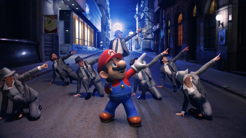New Super Mario Odyssey trailer is a live action musical riff on New ...