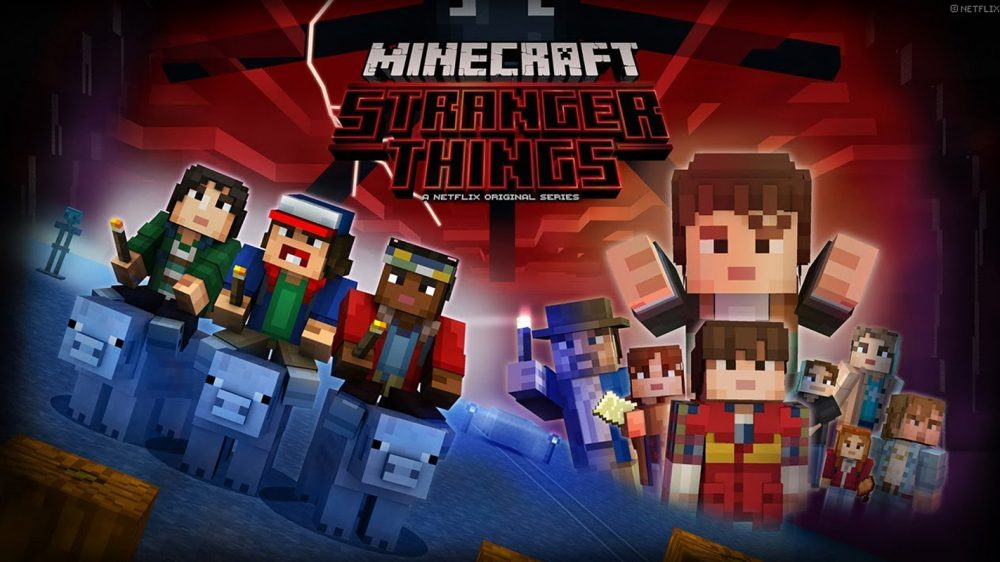 Minecraft gets Stranger Things skin pack, available now