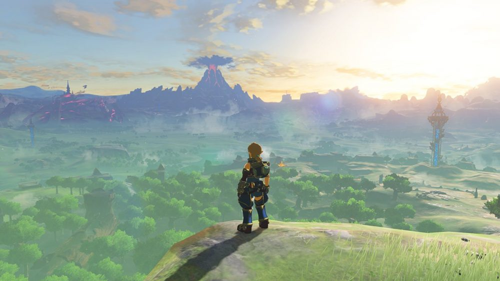 The Legend of Zelda: Breath of the Wild Champion Amiibo Functionality