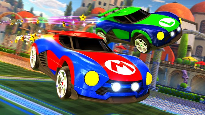 EB Games listing Rocket League Collector's Edition on Switch for January release
