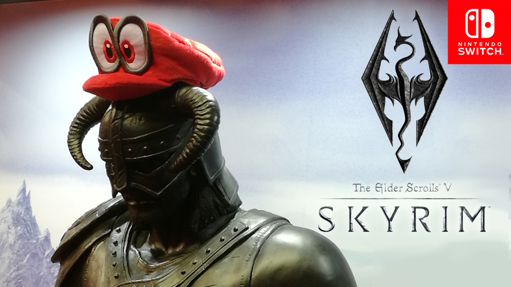 Skyrim on Switch is Everything You Hoped It Would Be - PAX ...
