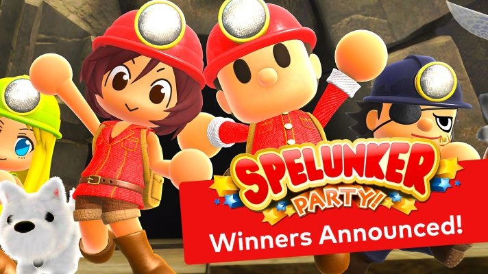 Competition: Winners of our  Spelunker Party! competition announced