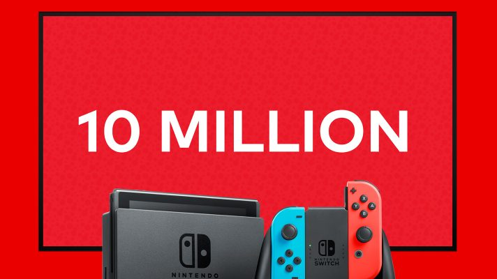 Nintendo confirms 10 million Switch units sold in 9 months