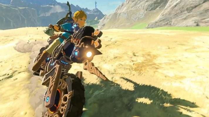 "Link has a motorbike in the Champions' Ballad, DLC launches ""tonight"""
