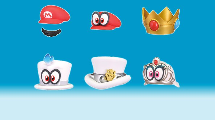 Super Mario Odyssey bottle cap toppers adds some 'stache to your drinks
