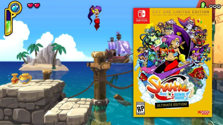 Shantae: Half-Genie Hero getting physical edition on Switch, available to preorder in the US