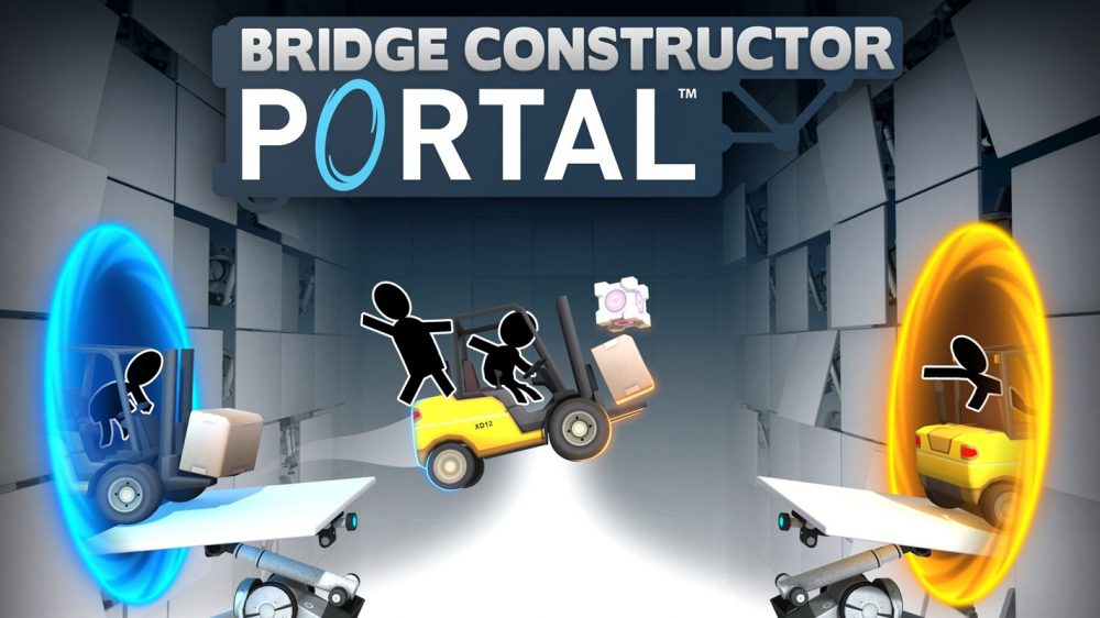 Bridge Constructor Portal Out in Early March for PS4, Watch Launch Trailer