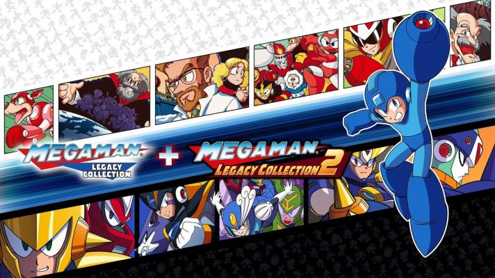 Mega Man Collection 1 + 2 coming to Switch in May
