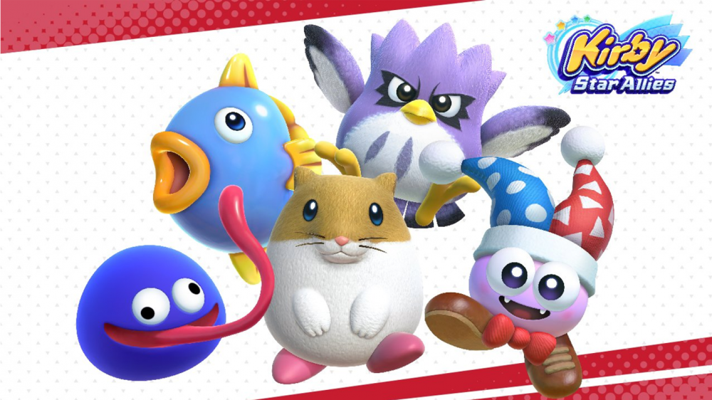 Kirby Star Allies DLC