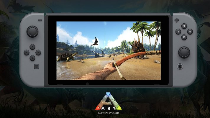 First screens revealed for ARK: Survival Evolved on Switch
