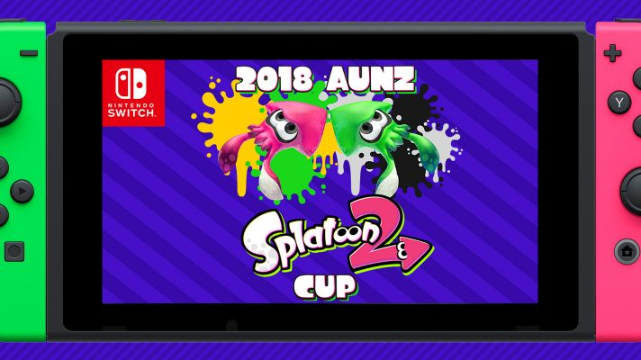 2018 Australian & New Zealand Splatoon 2 cup announced