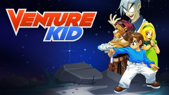 NES-inspired action platformer Venture Kid coming to Switch as a console exclusive