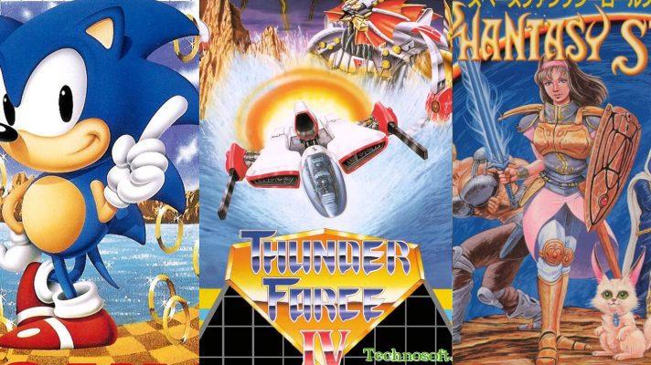 Sega Ages announced for the Nintendo Switch with Sonic, Phantasy Star and more coming