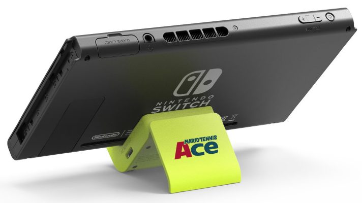 Nintendo giving away 100 custom Mario Tennis Aces charging stands to Japanese demo players