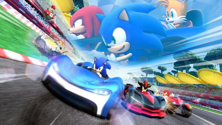 Team Sonic Racing zooms onto the Switch later this year