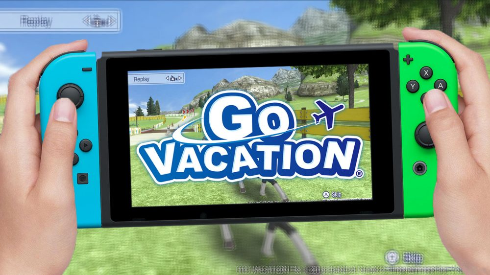 Compete On Kawawii Island In Go Vacation For Nintendo Switch