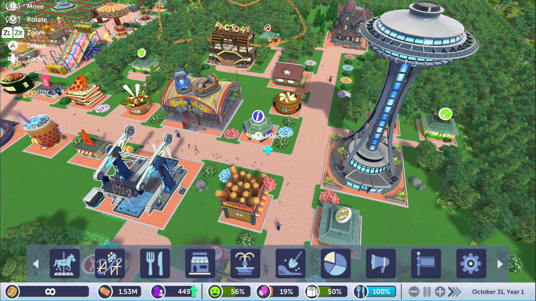 E3 2018: Hands on with Rollercoaster Tycoon Switch - Vooks