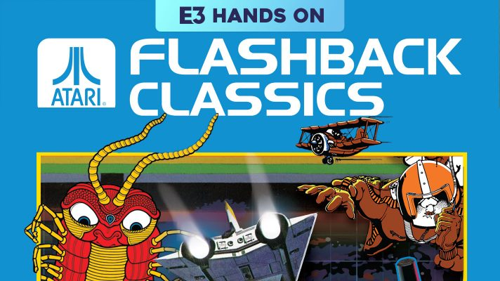 E3 2018: Hands On with Atari Flashback Collection