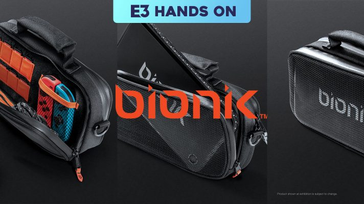 E3 2018: Hands on with Bionik Switch accessories