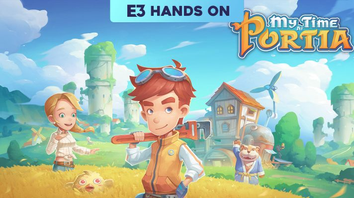 E3 2018: Hands on with My Time at Portia
