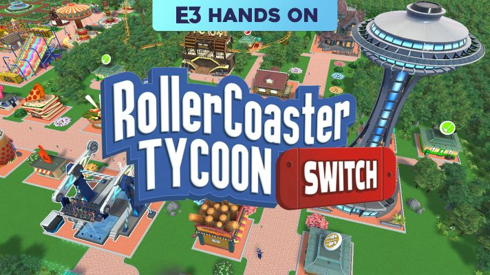 E3 2018: Hands on with Rollercoaster Tycoon Switch