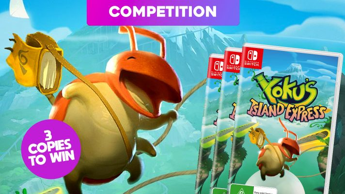Competition: Three copies of Yoku's Island Express to win!