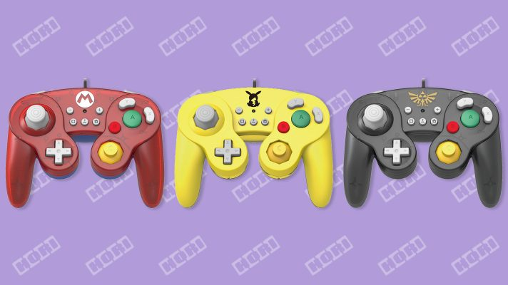 Hori announces three new Gamecube-styled controllers for Switch