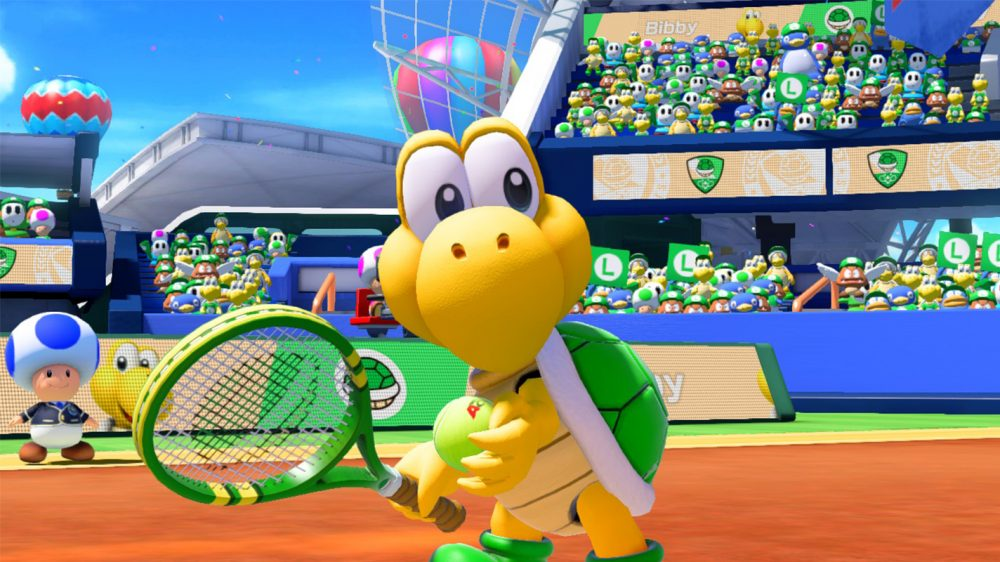 Mario Tennis Aces updated to version 1.1.1