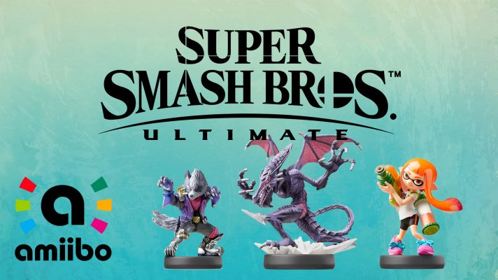 First look at Wolf amiibo for Super Smash Bros Ultimate, some original Smash amiibo to be re-released