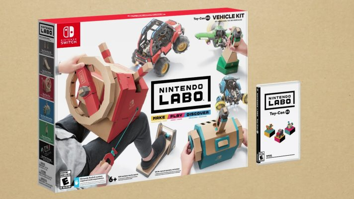 The next Nintendo Labo Kit is all about Vehicles, out September