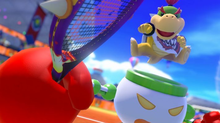 Mario Tennis Aces' latest patch will nerf Bowser Jr.