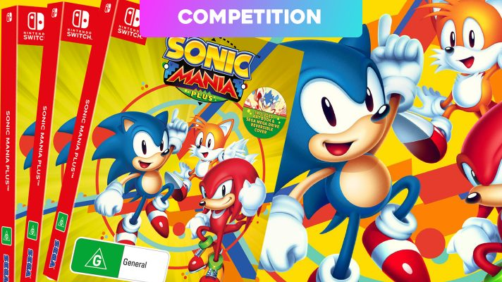 Winners Announced: Three copies of Sonic Mania Plus for Switch