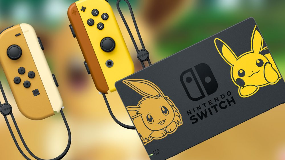 Nintendo's Pikachu & Eevee Switch is a 'Pokémon' fan's dream