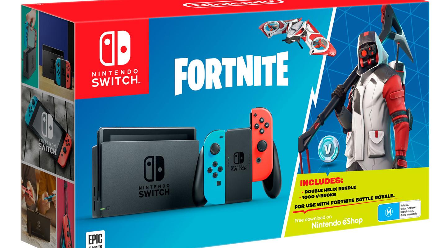 Nintendo Announces Fortnite Switch Bundle Coming To Australia Too Vooks